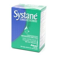 Systane Ultra Lubricant Eye Drops High Performance  Preservative-Free Vials, 0.4mL 24-count