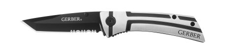 Gerber 22-41805 Traverse Tanto Serrated Edge Folding Knife front-1008535
