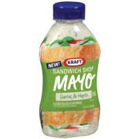 Kraft Sandwich Shop Mayo Garlic Herb 12-ounce Squeeze Bottles Pack Of 6 by Kraft