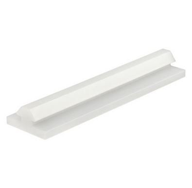 80/20 Inc., 6710, 10 Series, UHMW Top Mount Bi-Fold Door Hanger Profile x 12