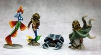 Reaper Miniatures 3608 Dark Heaven Legends Aquatic Familiars-2, 4 - 1