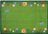 "Joy Carpets Kid Essentials Geography & Environment Summer Friends Rug, Multicolored, 5'4"" x 7'8"""