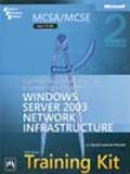 img - for MCSA/MCSE Self-Paced Training Kit (Exam 70-291) : Implementing, Managing, and Maintaining a Microsoft Windows Server 2003 Network Infrastructure book / textbook / text book