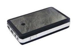 10000mAh 大容量バッテリー★3台同時充電可:5V/2.1A*2、9V,12V/1A★ タブレットPC、iPhone、iPad、Galaxy Tab 等に!