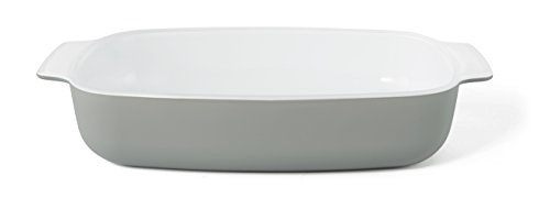 Creo SmartGlass Baking Dish, 1-Quart, Brooklyn Grey (1quart Baking Dish compare prices)