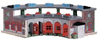 Thomas the Tank Engine - Deluxe Roundhouse - Buy Thomas the Tank Engine - Deluxe Roundhouse - Purchase Thomas the Tank Engine - Deluxe Roundhouse (Learning Curve, Toys & Games,Categories,Play Vehicles,Wood Vehicles)