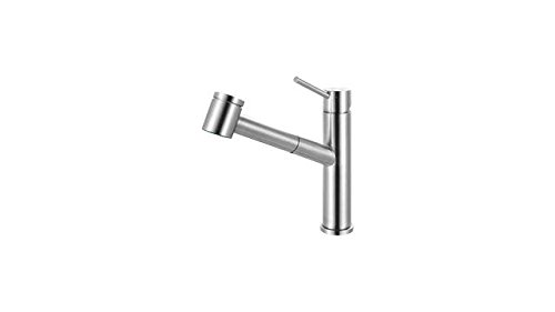 Franke FFPS3450 Series Pull-Out Kitchen Faucet, Stainless Steel (Franke Stainless Steel Cleaner compare prices)