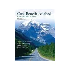 Cost Benefit Analysis: Concepts and Practice (3rd Edition) Anthony E. Boardman, David H. Greenberg, Aidan R. Vining and David L. Weimer