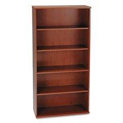 """** 36""""W 5-Shelf Bookcase Series C Hansen Cherry **"""