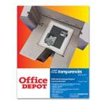 Office Depot(R) Laser Transparency Film For Black & White Printers, Pack Of 50 - Buy Office Depot(R) Laser Transparency Film For Black & White Printers, Pack Of 50 - Purchase Office Depot(R) Laser Transparency Film For Black & White Printers, Pack Of 50 (Office Depot, Office Products, Categories, Office & School Supplies, Presentation Supplies, Transparency Film)