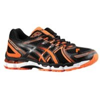 ASICS Mens 8.5 M US Black/Flash Orange/Onyx