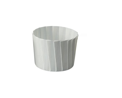 Welcome Home Brands Free Standing Pleated Baking Muffin Cups, White 2.3-Inch Diameter by 2-Inch Height, One Case of 490 Units