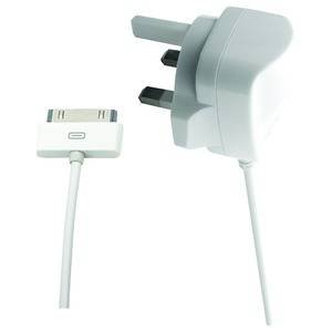 AC CHARGER 2.1A FOR IPOD / IPHONE / IPAD 30PIN APPLE CONNECTOR