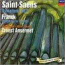 サン=サーンス:交響曲第3番「オルガン付き」/フランク:交響曲ニ短調ジャケット画像