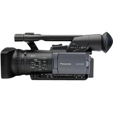New Panasonic Professional 3-Ccd Shoulder Mount Avchd Solid State Camcorder Stunning Image Quality