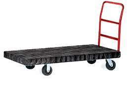 Rubbermaid Commercial FG9T1100 Heavy Duty Platform Truck, 2000 lbs Capacity, 70