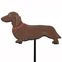 Hand Painted Dog Breed Garden Stake - Dachshund