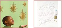 Martha Stewart Crafts - Holiday - Glittered Star Kit