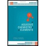 Aqueous Chemistry of the Elements (10)