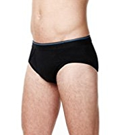 4 Pack Cool & Fresh Stretch Cotton Assorted Briefs
