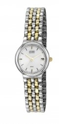 Citizen Eco Drive Two Tone Ladies EW1214-58A