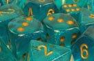 6-wurfel-von-chessex-12mm-klein-borealis-turkis-gold