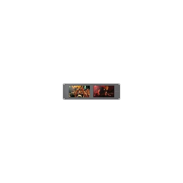 Blackmagic Design Smartview Duo Rackmountable Dual 8 inch LCD Monitors
