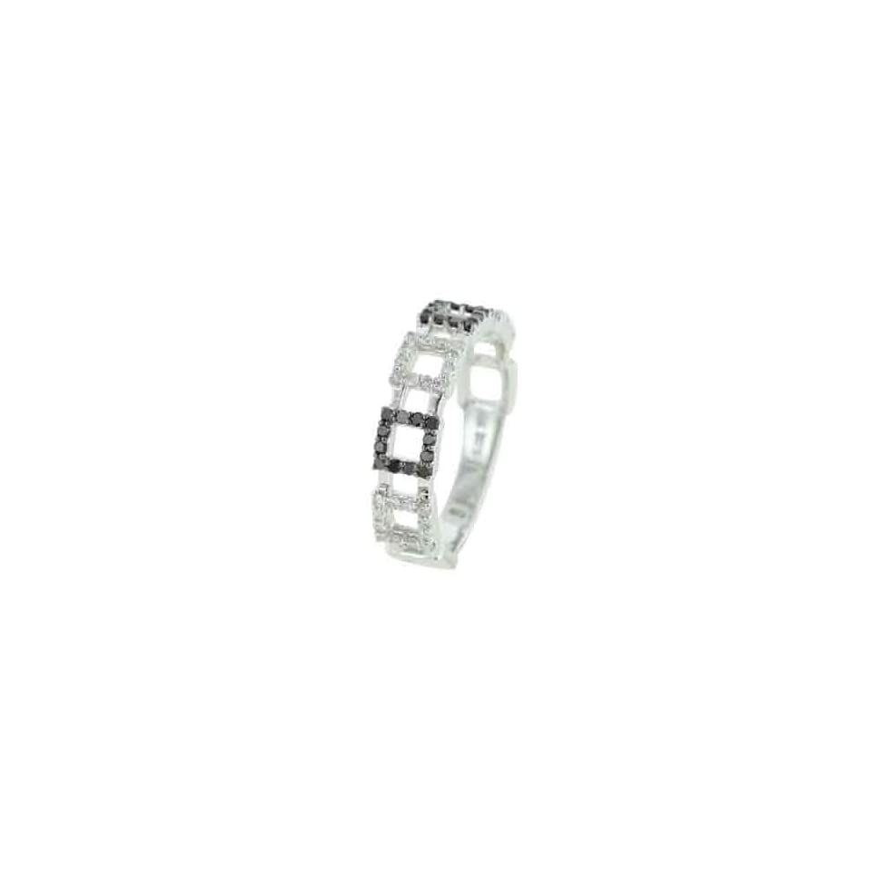 White Gold Diamond Rings Diamond quality AA (I1 I2 clarity, G I color