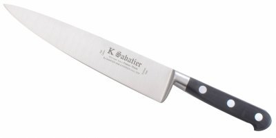 French Sabatier 8 Inch Forged Carbon Steel Chef Knife