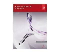 Adobe Acrobat X Standard - Full Version for Windows Software