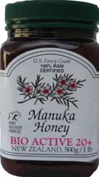 Bio Active 20+ Manuka Honey 1 Lb