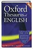 img - for Oxford Thesaurus of English. book / textbook / text book