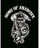 Sons Of Anarchy Super Soft Flannel Throw Blanket 50quotX60quot