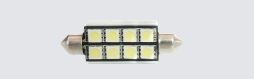 5X(31-41)Mm (2-8)Smd Led Auto Light,Led Light Bulb For Cars (5 X 41Mm 8Smd)