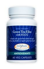 Green Tea Elite With Egcg Enzymatic Therapy Inc. 60 Caps
