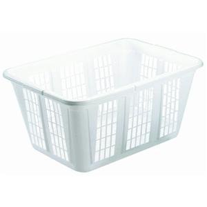 Rubbermaid 296585WHT Laundry Basket