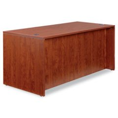 ** Valencia Series Straight Front Desk Shell, 65w x 29-1/2d x 29-1/2h, Med Cherry **