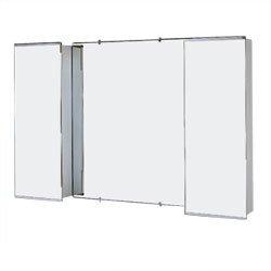 Jensen 626 Bel Aire Surface Mount Medicine Cabinet, Stainless Steel Trim