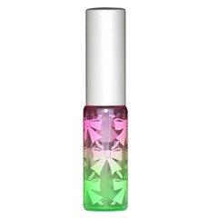 ヒロセ アトマイザー リボン アトマイザー アルミキャップ グラデーションカラー プラスチックポンプ 58206 (ピンク グリーン)