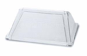 APW Wyott SG-50 - Sneeze Guard, Sloped Front Design, For Hot Dog Grills Approx 36 x 20 in