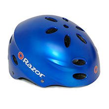 Razor V-17 Child Helmet, Satin Blue