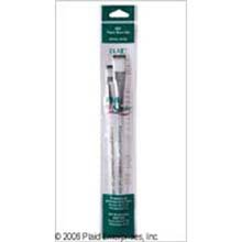 Plaid One Stroke Fabric Brush Set (#16 Flat, #8 Flat)