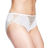 Autograph High Leg Lace Knickers