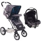 Mutsy 4 Rider light Stroller - New Cargo Grey inc Pack 8