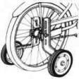 "Training Wheel 12""-20"""