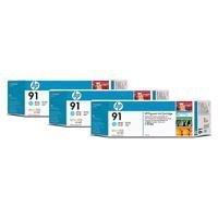 Ink cartridge Hp 91 light cyan 3pk 3 ink cartridges 775 ml each (C9486A)