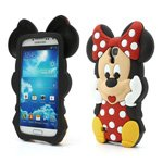 3D Disney Minnie Mouse Silicone Case Cover for Samsung Galaxy S IV S 4 i9500 i9502 i9505