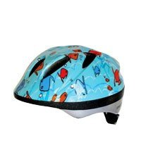 HELMET ACCLAIM SOLO FISH TEAL SM/MD KIDS YOUTH