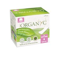 ORGANYC Hypoallergenic 100% Organic Cotton Panty Liners