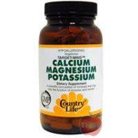 Country Life - Cal-Mag-Potassium 500/500/99 Target Mins - 180 Tablets